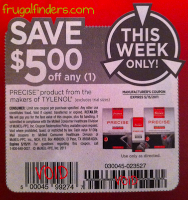 Tylenol-Precise-Coupon