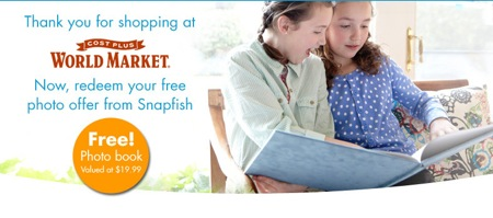 FREE Snapfish photo book