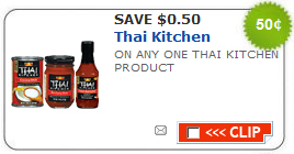 thai kitchen coupon