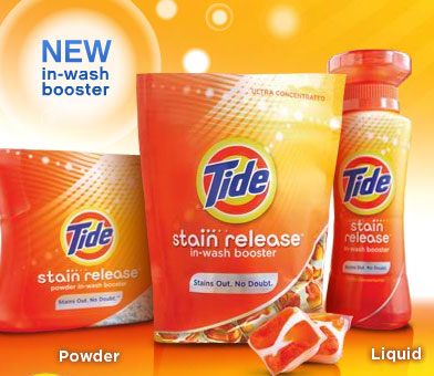 tide stain release free sample