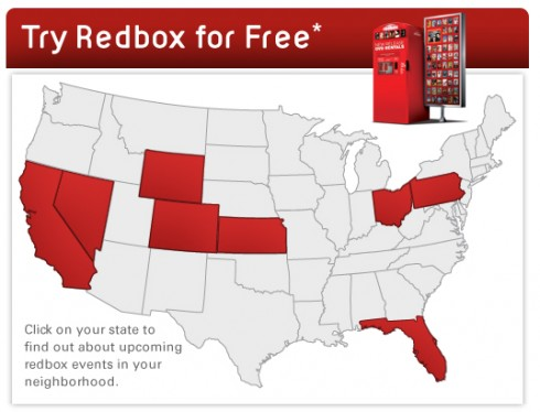 try redbox free events