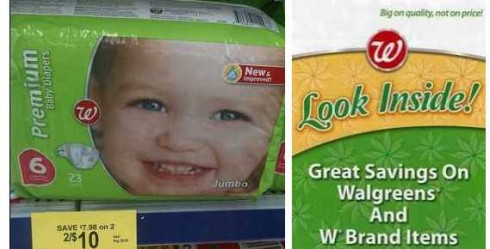 cheap diapers at walgreens