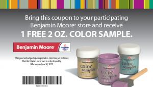 Free Sample Roundup: Benjamin Moore Paint Sample + More Still Available