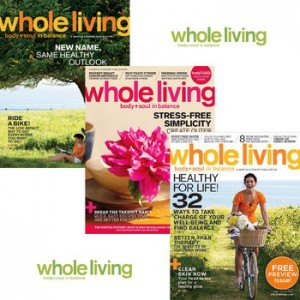 whole living magazine subscription deal