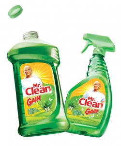 Mr. clean with gain scent