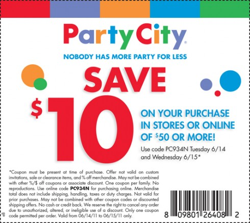 Treats for Baby Tuesday: Party City Coupon + More! - Deal ...