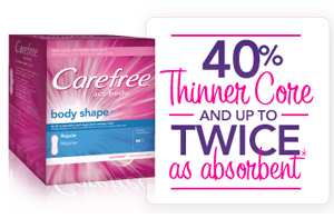 Carefree Acti-Fresh Liner FREE Sample & Coupon + More Still Available