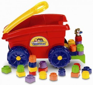 Little People Builders' Load 'n Go Wagons + More