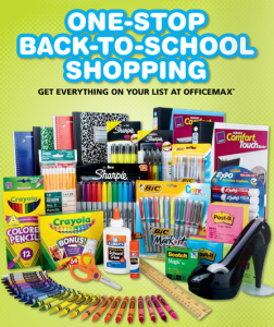 Office Max Back To School Deals 7/10/11
