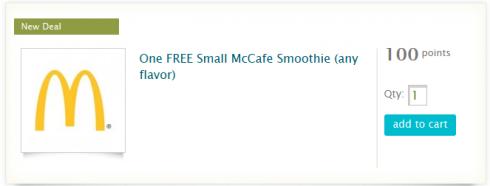free mcdonald's coupon