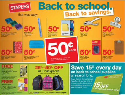 053e25d357 Staples Back To School Savings 7 3 11 - Deal Seeking Mom