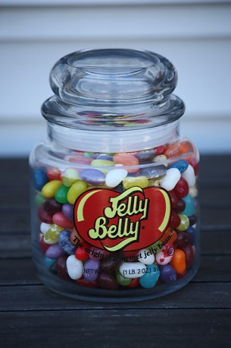 Win It Wednesday Guess The Number Of Jelly Beans To Win A