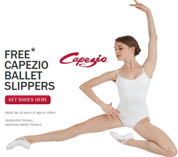 free capezio ballet slippers