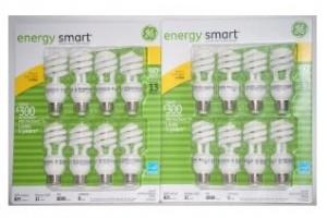 GE Energy Smart Bulbs