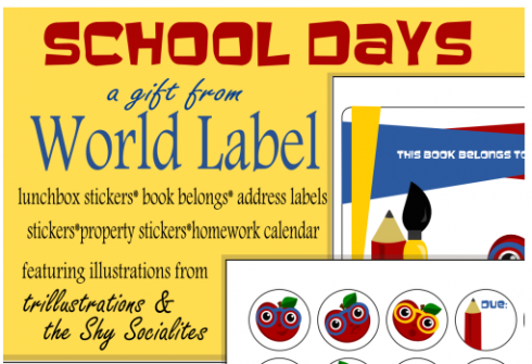 school-days-labels