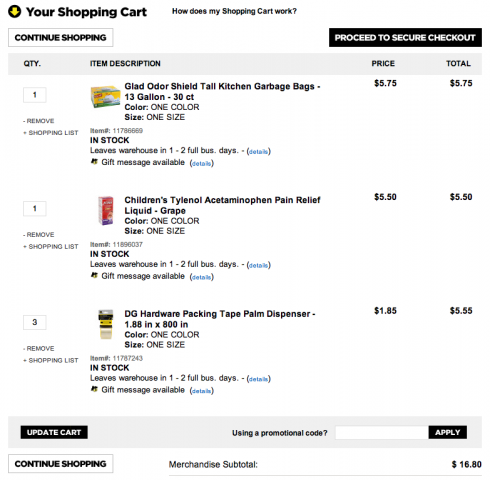 Dollar General Now Delivers + $25 Gift Card Giveaway