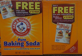 Arm & Hammer and Better Homes & Gardens Offer