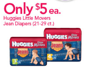 Babies R Us September Sale on Huggies