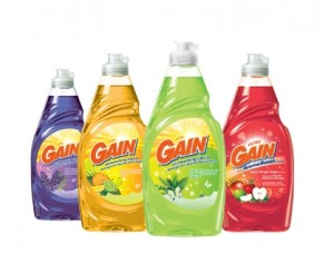 Free Gain dishwashing soap