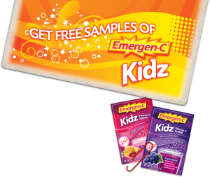 EmergenC Kids Free Samples