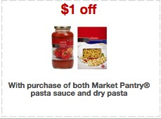 Market Pantry Pasta coupon