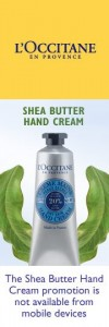 L'Occitane FREE Sample