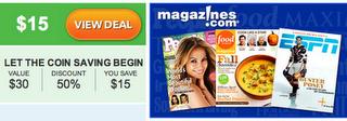 Magazine Saveology Deal