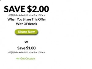 Minute Maid Coupon Offer