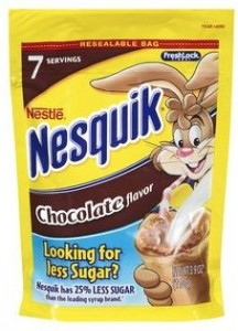 Walmart Nesquick Powder Punch