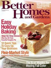 Better Homes and Gardens FREE Subscription