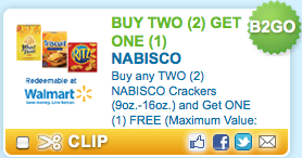 photograph about Nabisco Printable Coupons identified as Nabisco B2G1 Free of charge Crackers Printable Coupon