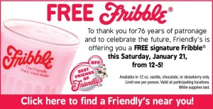 Freebie Friday: Friendly's Fribble, P.F. Chang's + More!