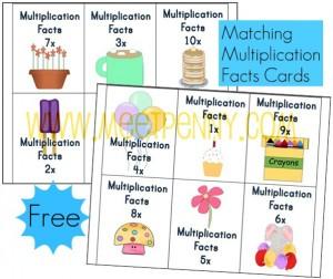 free printable multiplication worksheets flash cards deal seeking mom. Black Bedroom Furniture Sets. Home Design Ideas