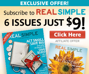 Filled with tips and articles on everything from organizing and cleaning your house to preparing delicious and simple meals, Real Simple focuses on easing the stress in your life. By offering suggestions and shortcuts for streamlining your world, Real Simple can help you live better.