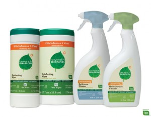 photograph relating to Seventh Generation Printable Coupon identify 7th Production Disinfecting Spray or Wipes $0.74 at TRU