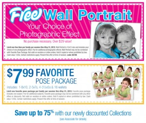Treats for Baby Tuesday: Wallmart PictureMe Portrait Studio, Old Navy + More!