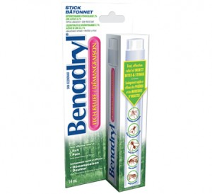 image relating to Benadryl Printable Coupon titled Bendadryl Itch Reduction Sticks $0.39 at Concentrate - Bundle Trying to get Mother