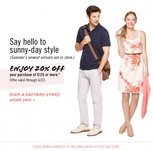 Treats for Baby Tuesday: J. Crew, Loft.com, Gymboree + More!