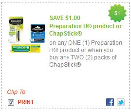 1 Off 2 Chapstick Products Printable Coupon Deal Seeking Mom