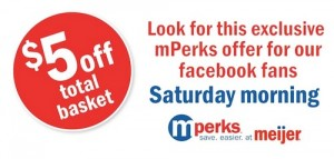 Meijer mPerks 5 Dollar off Coupon