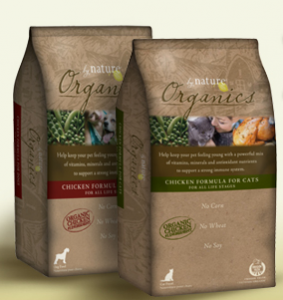 Nature Organic pet food