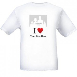 2 personalized holiday t shirt from vistaprint for Vista t shirt printing