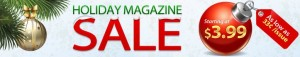 holiday magazine sale