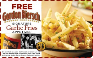 Freebie Friday: Gordon Biersch, Office Depot, Thornton's + More!