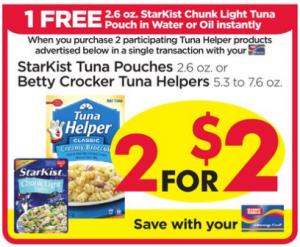 tuna helper coupons