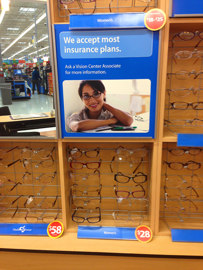 Affordable Eyeglasses From Walmart Vision Center