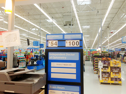 Affordable Eyeglasses From Walmart Vision Center