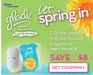 Glade Plug Ins Free With Printable Coupons