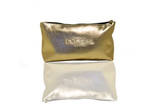L'Oreal Paris limited-edition cosmetic bag