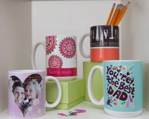 Custom Cermaic Mug makes a great Father's Day Gift